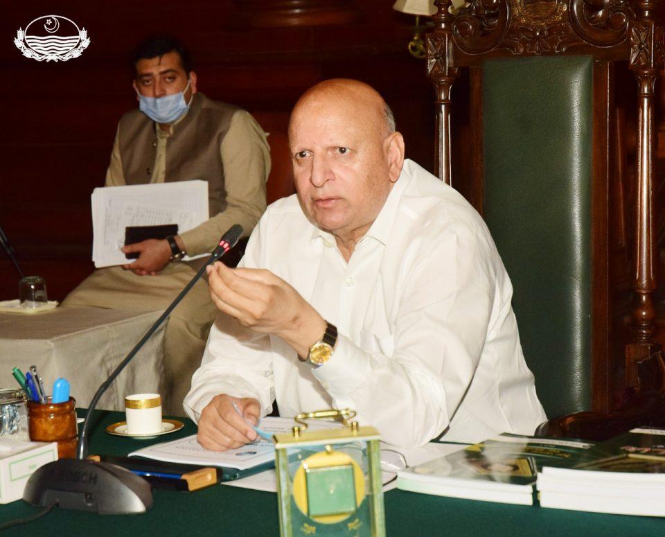 Governor Punjab Calls On Yasinzai