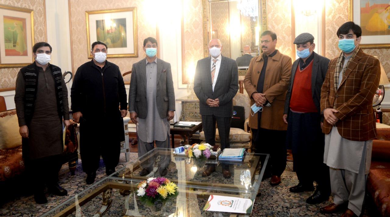 Delegation led Tahir Iqbal MNa