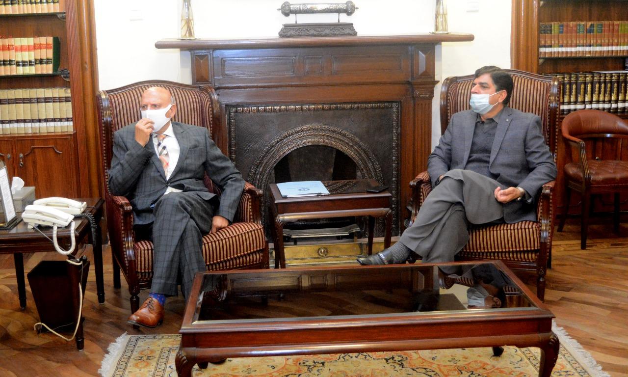Meeting with Akhtar Malik Minister Energy Punjab