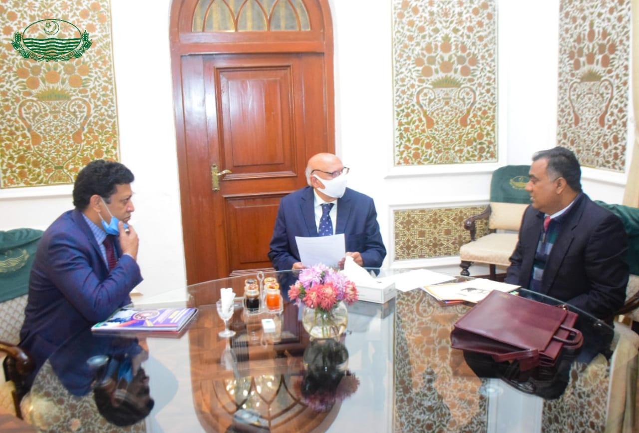 Call on Samuel Payara, Chairman Implementation Minority Rights Forum along with Dr. Emast Faheem Bhatti